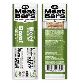 Jay's Meat Bars Beef & Blueberry 28.35gm (1oz)