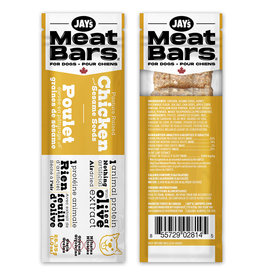 Jay's Meat Bars Chicken & Sesame 28.35GM (1oz)
