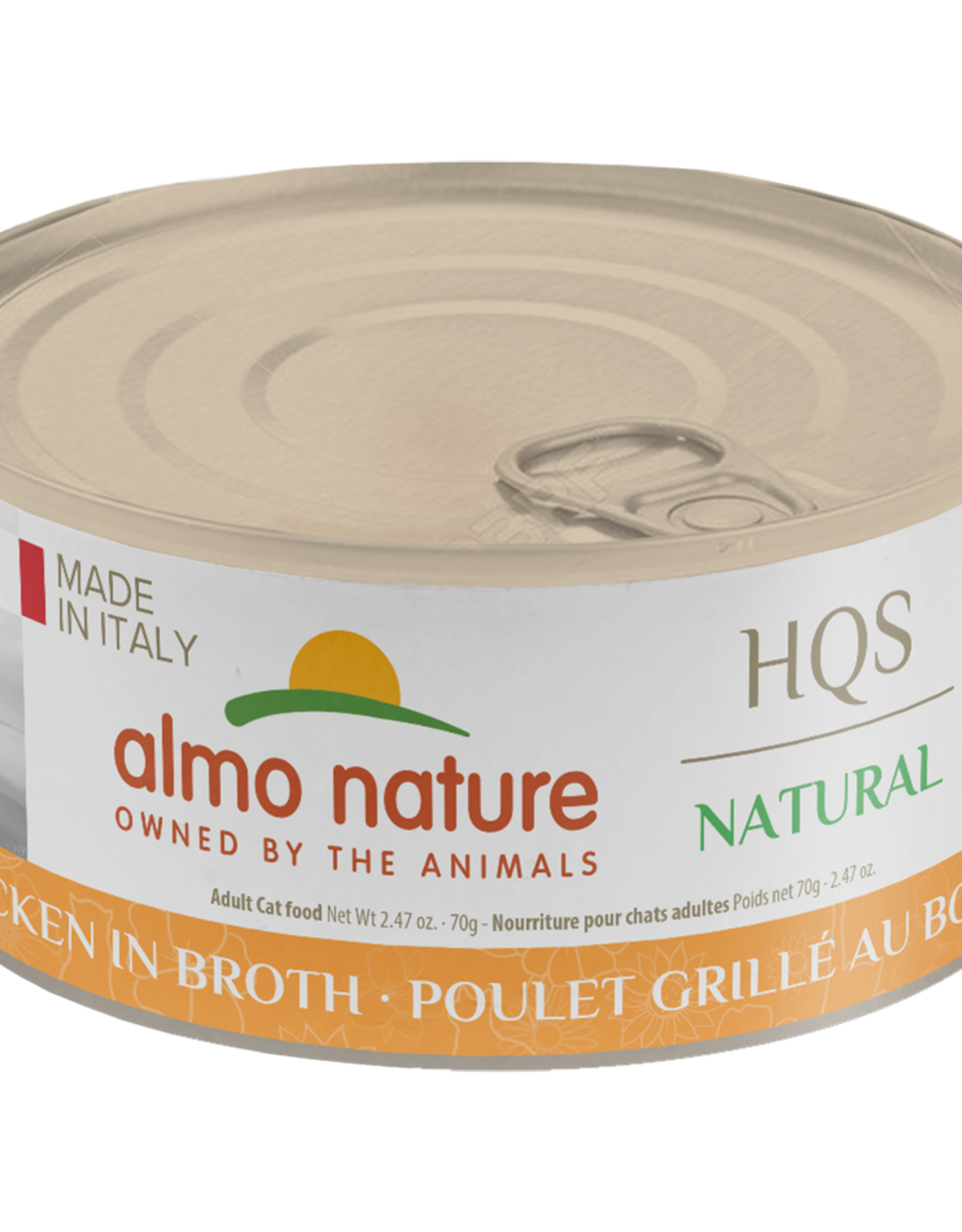 Almo Nature Made in Italy Grilled Chicken Broth 70gm