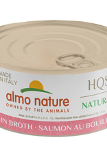 Almo Nature Made in Italy Salmon in Broth 70gm