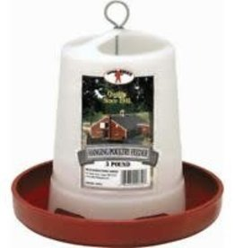 Litter Giant little giant hanging poultry feeder 3lbs