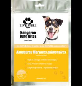 Live Well Live Well Kangaroo Lung Bites 80 g