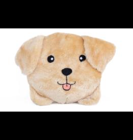 Zippy Paw ZippyPaws Squeakie Buns Toy Yellow Labrador