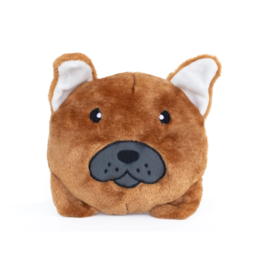 Zippy Paw ZippyPaws Squeakie Buns Toy French Bulldog