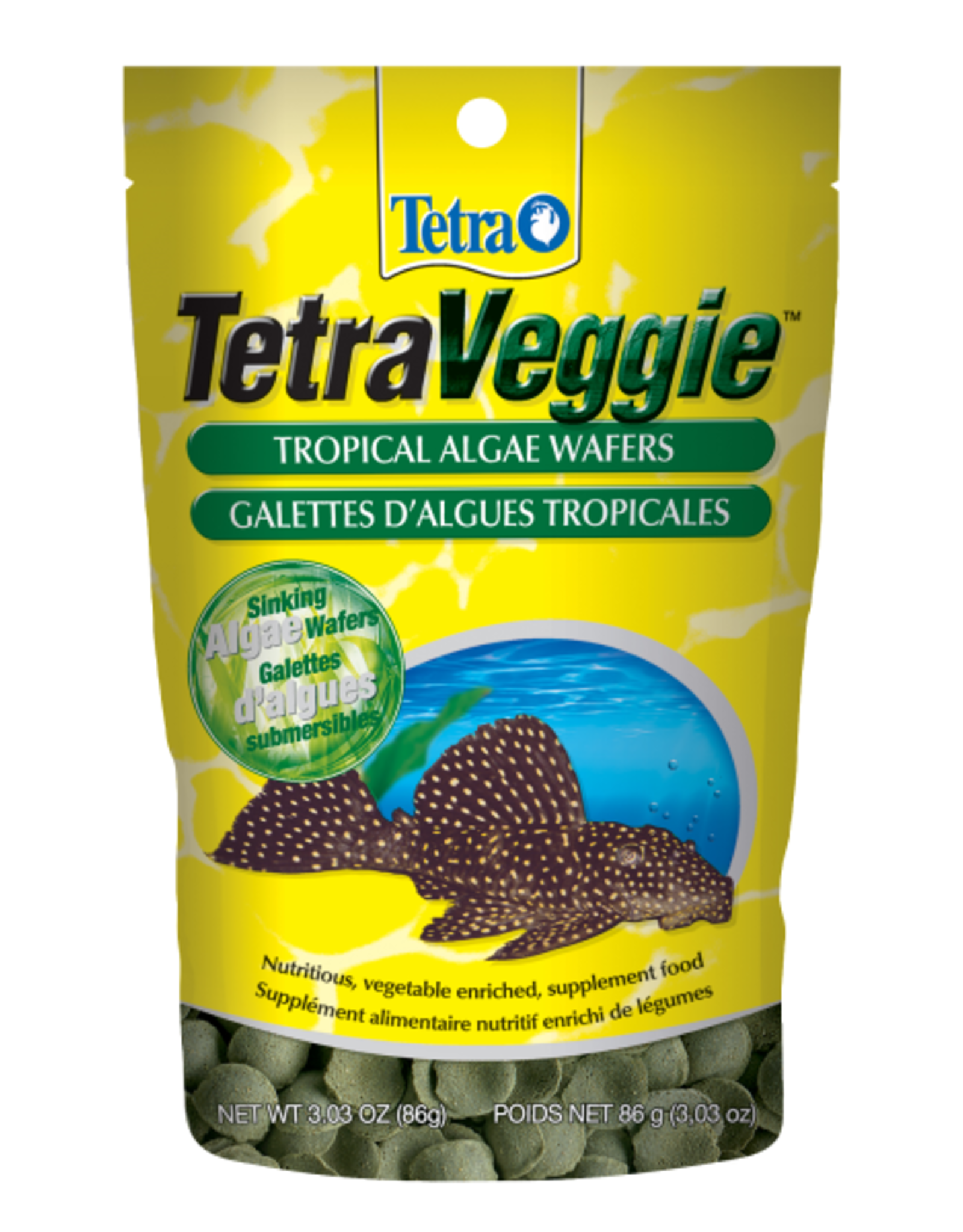 TETRA Tetra Veggie Wafers 3.03 oz