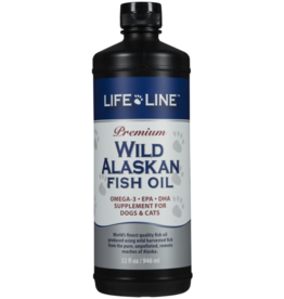 Life Line Lifeline Wild Alaskan Fish Oil 32 oz