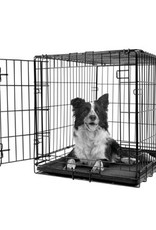 DogIt Dogit Single Door Wire Crate - Medium - 77 x 48 x 54.5 cm (30 x 19 x 21.5 in)