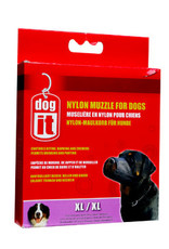 DogIt Dogit Nylon Dog Muzzle - Black - X Large (21.5 cm / 8.5in)