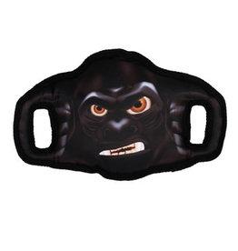 Zeus Zeus Growlers Dog Toy - Gorilla - 30 cm x 18 cm (12 in x 7 in)