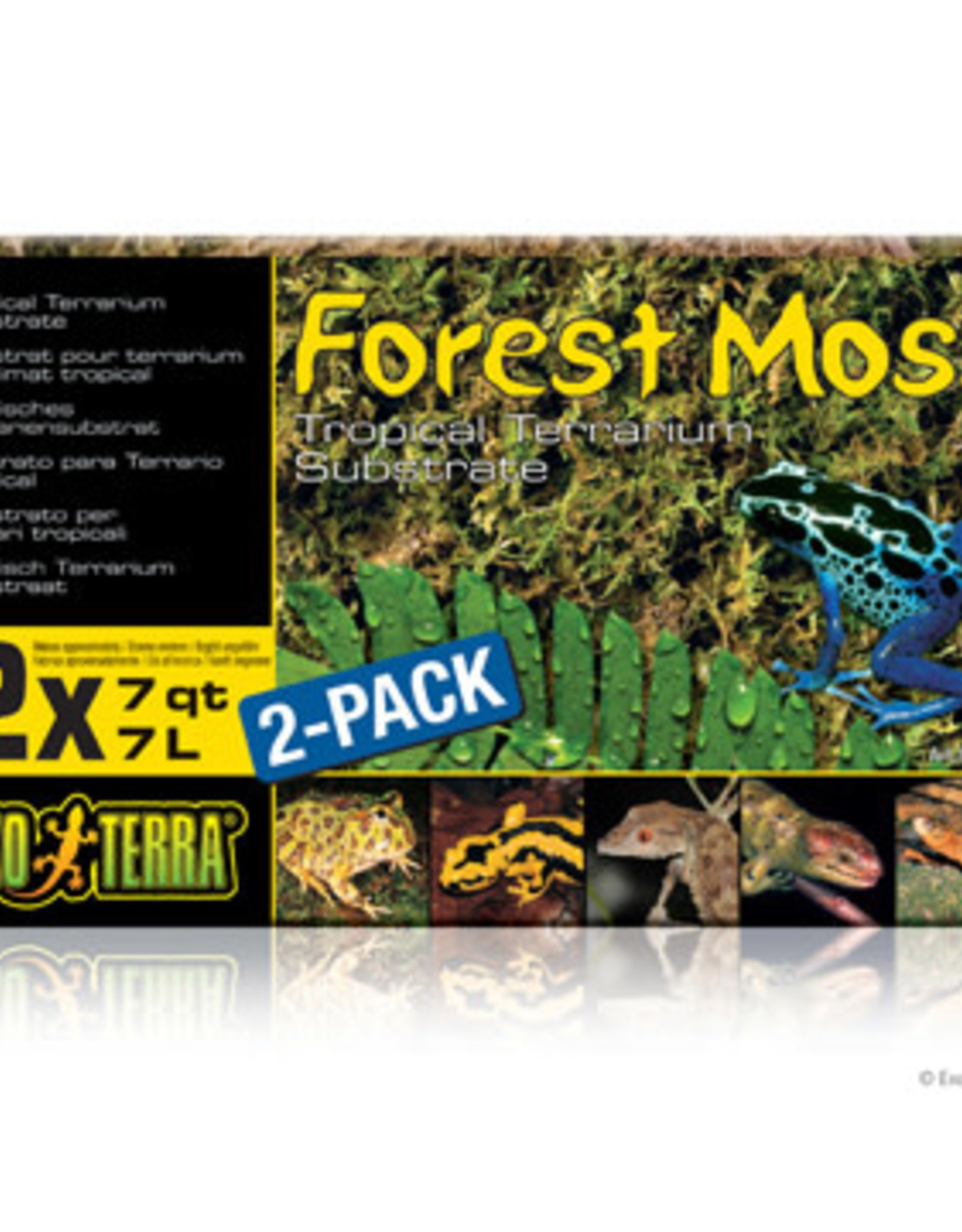 EXO-TERRA Exo Terra Forest Plume Moss, 7 qt. (2/pack)