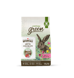 LIVING WORLD Living World Green Botanicals Juvenile Rabbit Food - 1.36 kg (3 lbs)
