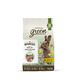 LIVING WORLD Living World Green Botanicals Adult Rabbit Food - 1.36 kg (3 lbs)