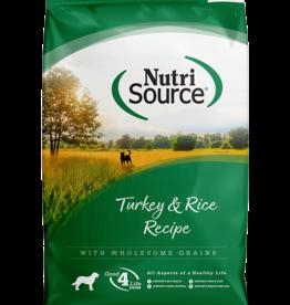 NUTRISOURCE NURTISOURCE Turkey & Rice 30lb