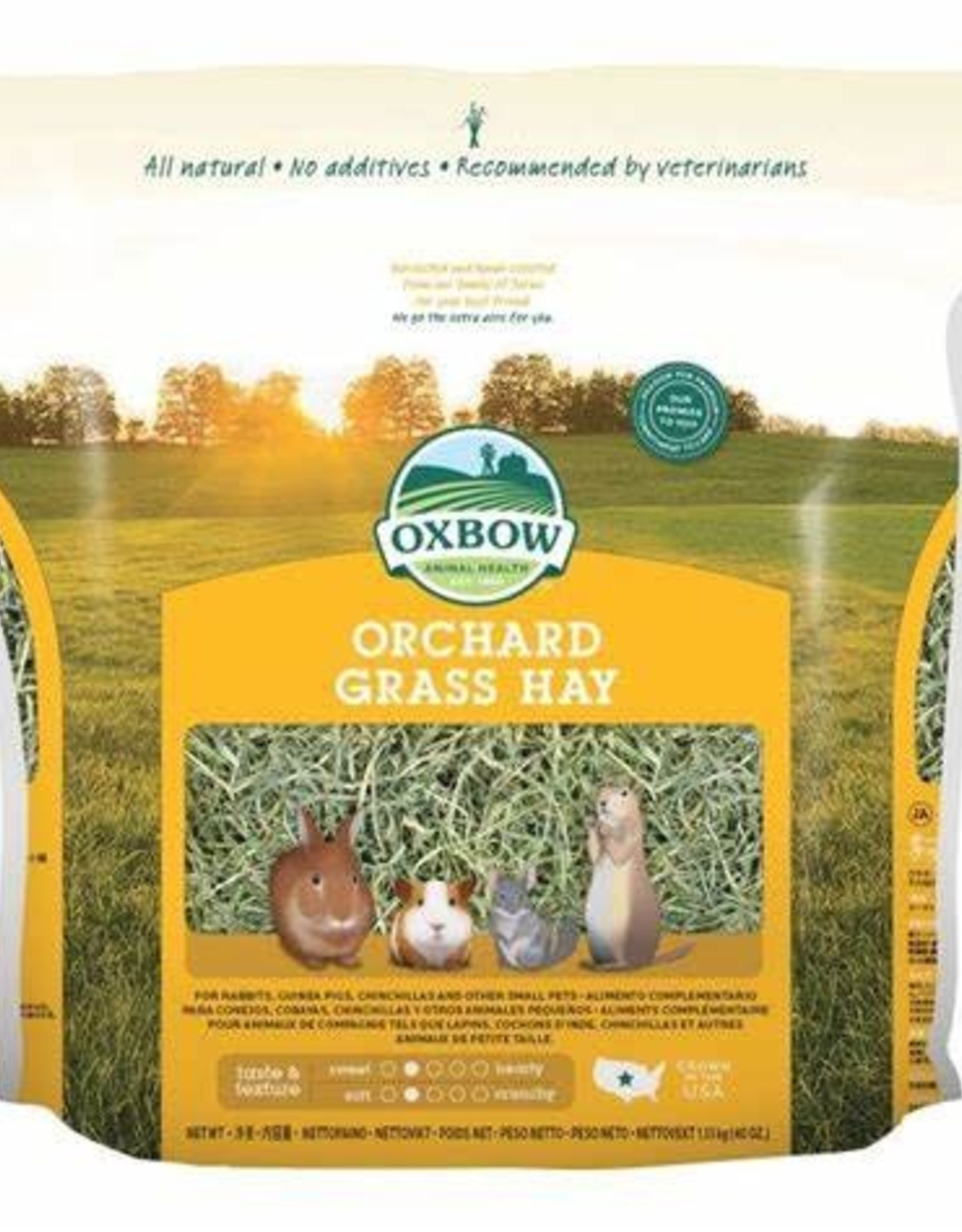 OXBOW ANIMAL HEALTH OXBOW ORCHARD GRASS 40 OZ.