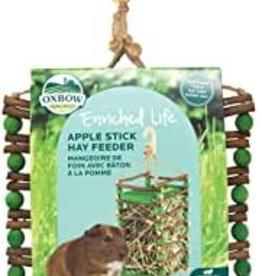 OXBOW ANIMAL HEALTH Oxbow Care Apple Stick Hay Feeder
