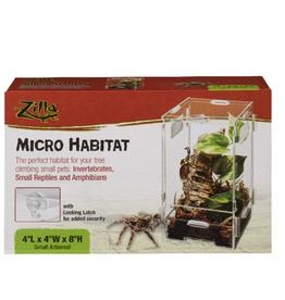 Zilla ZILLA Micro Habitat Arboreal Small 4x4x8in
