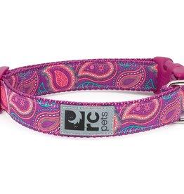 RC PETS RC Pets Clip Collar XS 5/8 Bright Paisley