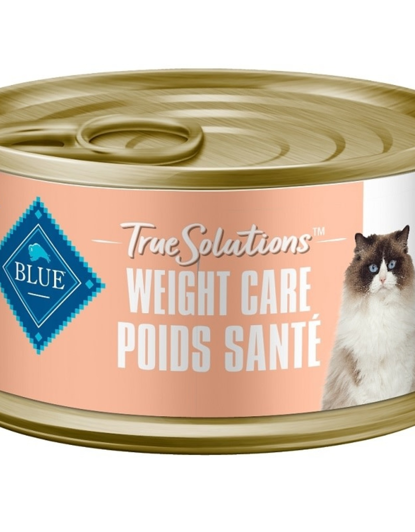 BLUE BUFFALO BLUE TRUESOL Can CAT Weight Care 3oz