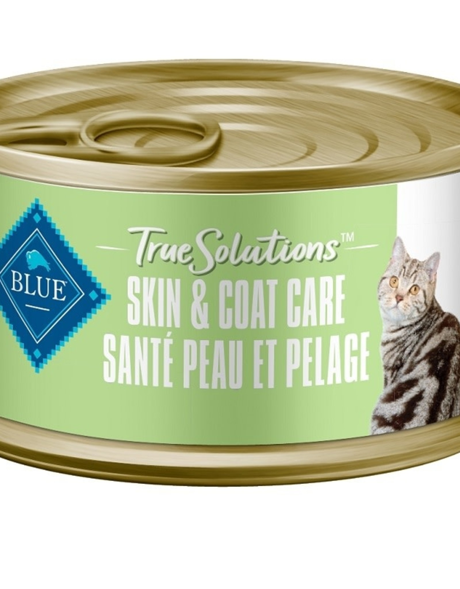 BLUE BUFFALO BLUE TRUESOL Can CAT Skin & Coat Care 3oz