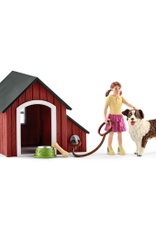 SCHLEICH FARM WORLD - DOG KENNEL