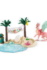 SCHLEICH BAYALA - DRAGON ISLAND WITH TREASURE