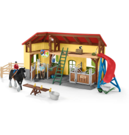 SCHLEICH FARM WORLD - HORSE STABLE
