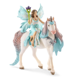 SCHLEICH BAYALA - FAIRY EYELA w/PRINCESS UNICORN