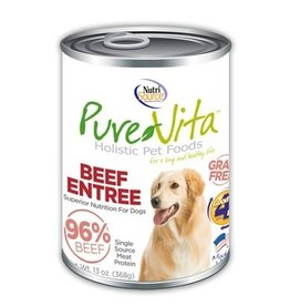 NUTRISOURCE PureVita CAN DOG GF Beef & Beef Liver 13 oz