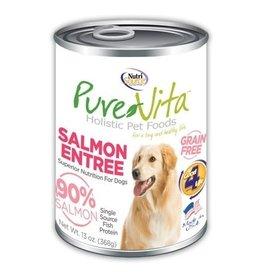 NUTRISOURCE PURE VITA GF DOG SALMON ENTREE, 13 OZ. CAN