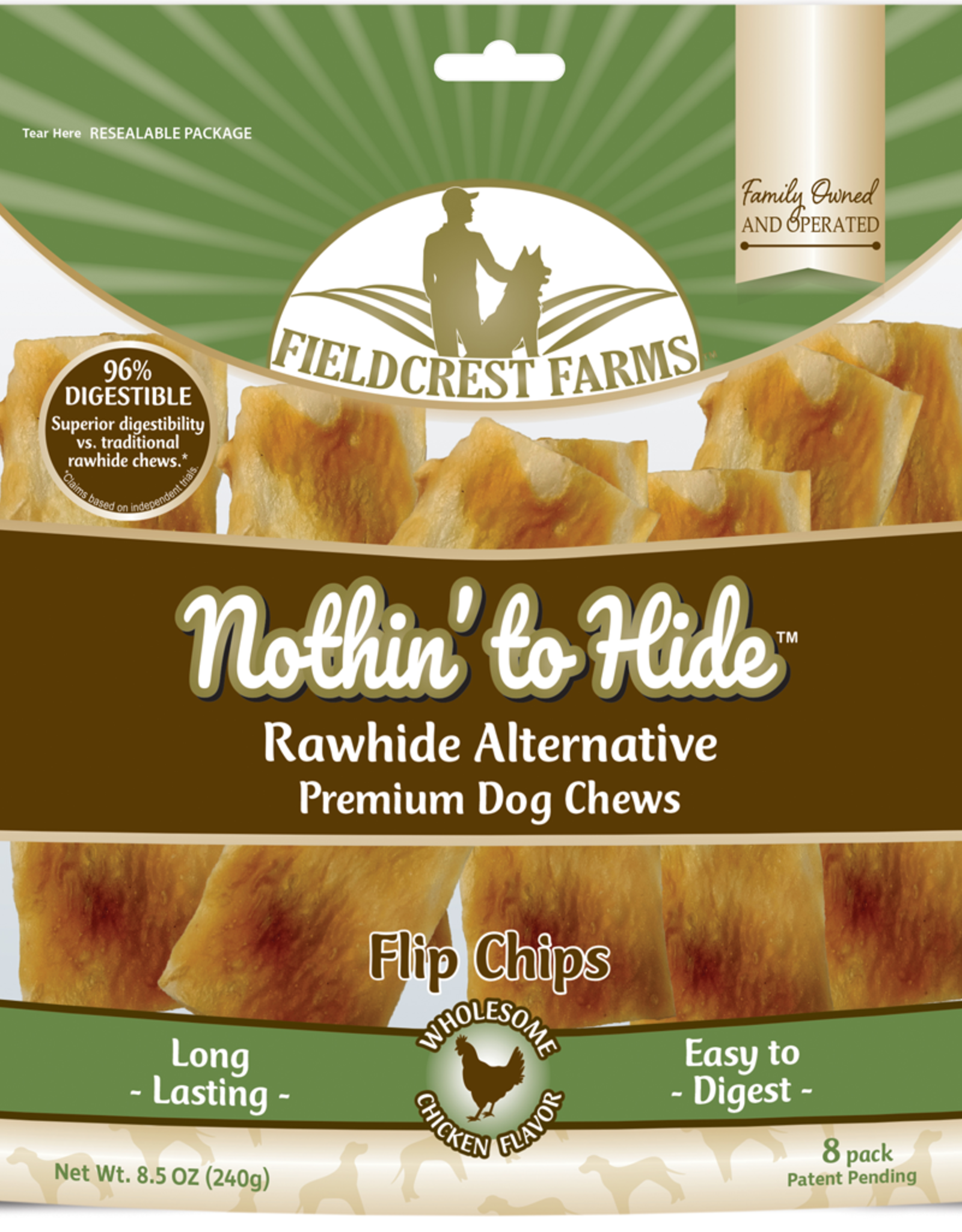 NOTHIN TO HIDE NOTHING TO HIDE Flip Chips Chicken 8PK
