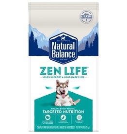 Natural Balance NB Zen Life Turkey 4 LB