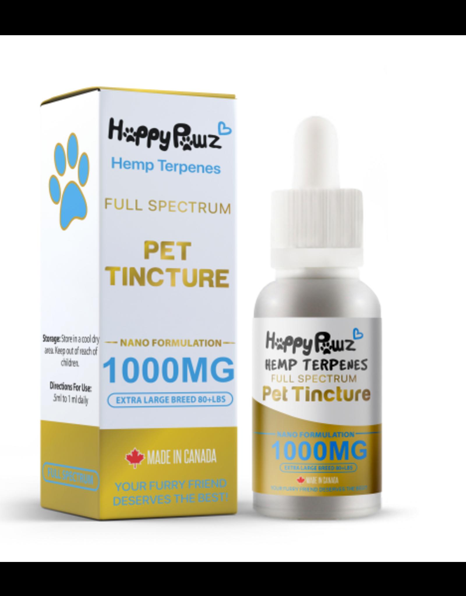 Happy Paws Happy Pawz Hemp Oil 1000 mg