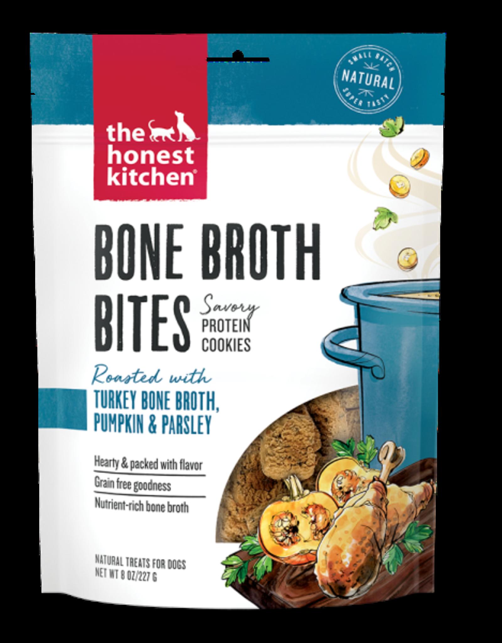 Honest Kitchen HK Dog Bone Broth Bites w/ Turkey Bone Broth & Pumpkin 8 oz