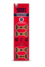 Great Jack's Great Jacks Bully Sticks Air Dried 12in 4 pk