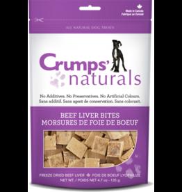 Crump's Naturals Crumps Beef Liver Bites  4.7oz /135g