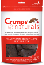 Crump's Naturals Crumps Traditional Liver Fillets  5.6oz /160g