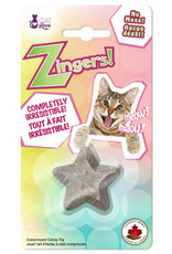 Cat Love Cat Love Zingers! Heat pressed catnip toy - Star shape - 8.5 g