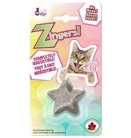 Cat Love Cat Love Zingers! Heat pressed catnip toy - Star shape - 8.5 g