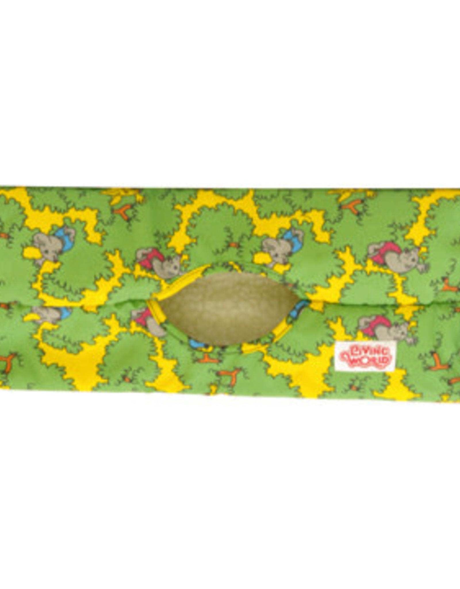 LIVING WORLD Living World Ferret Play Tube - Green - 39 cm x 17.5 cm (15 x 7 in)