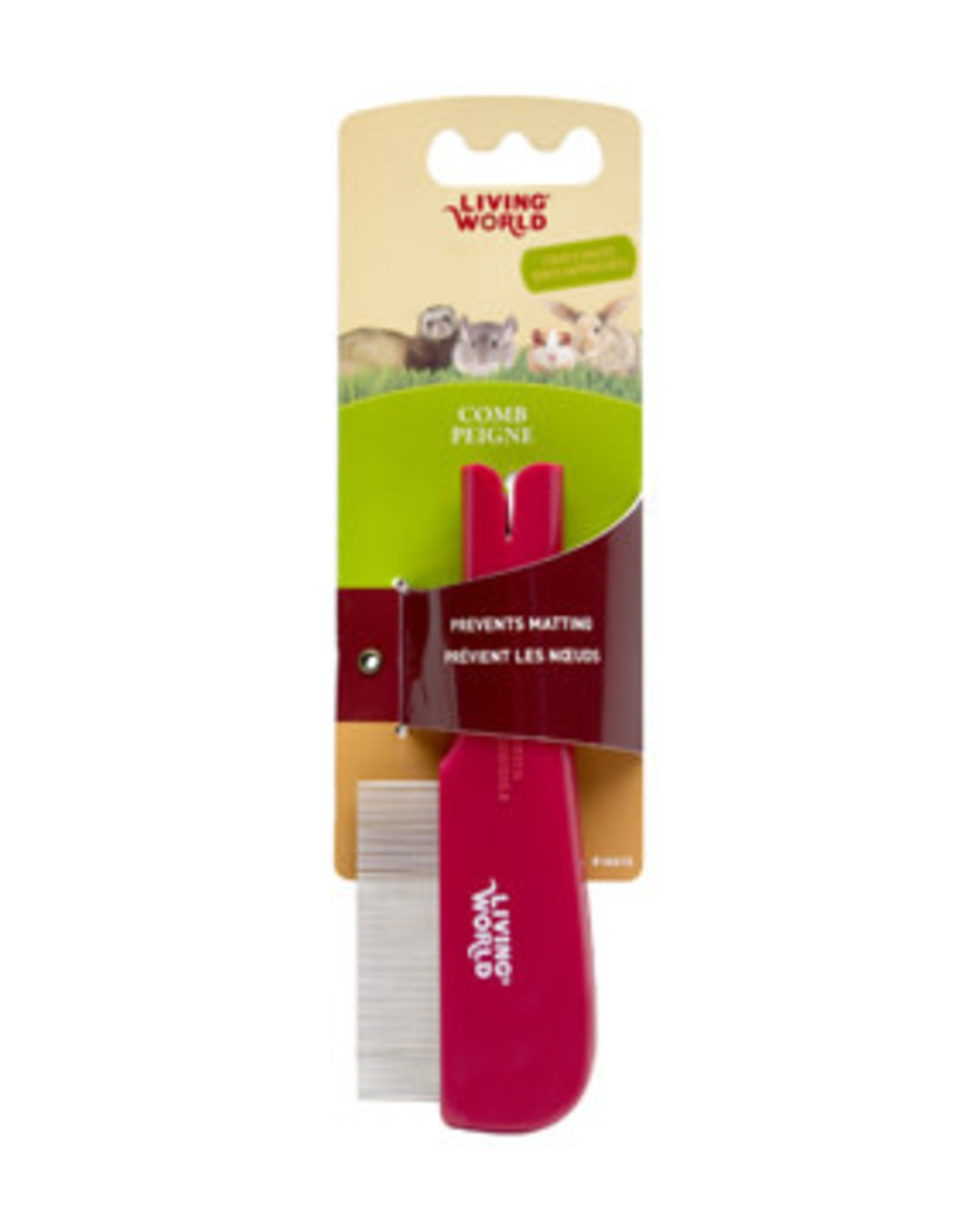 LIVING WORLD Living World Small Animal Combo Flea & Face Comb