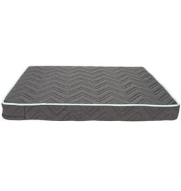 DogIt Dogit Dreamwell Interweave Orthopedic Bed - Grey - 81 x 61 x 8 cm (32in x 24in x 3in)