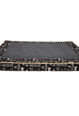 DogIt Dogit Dreamwell Interweave Orthopedic Bed - Black Woof - 97 x 74 x 8 cm (38in x 29in x 3in)