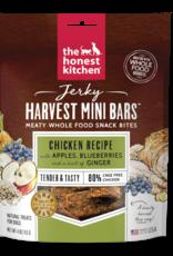 Honest Kitchen HK Dog Jerky Harvest Mini Bars Chicken w/ Apple&Blubrry 4 oz