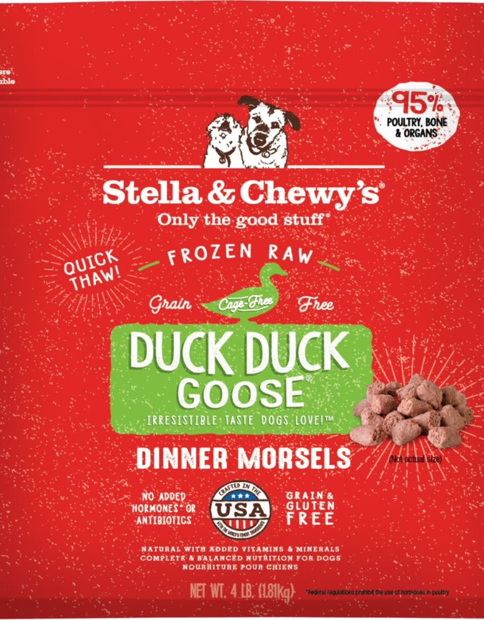 Stella & chewy's Frozen - SC Duck Duck Goose Dinner 4LB