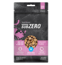 Nutrience Grain Free Subzero Prairie Red Treats - Beef Liver, Pork Liver & Lamb Liver - 30 g (1 oz)