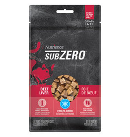 NUTRIENCE Sub Zero Beef Liver Treats - Cat