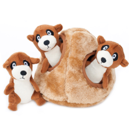 Zippy Paw ZippyPaws Burrow Squeaker Toy Meerkat Den