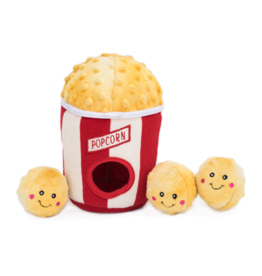 Zippy Paw ZippyPaws Burrow Squeaker Toy Popcorn Bucket