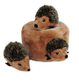 Zippy Paw ZippyPaws Burrow Squeaker Toy Hedgehog Den