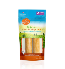 """Canine Naturals Canine Naturals Hide-Free Chicken Rolls Large 7"""" 2 Pk"""